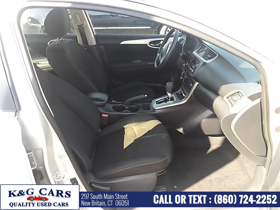 Used Nissan Sentra 4dr Sdn I4 CVT S 2015   K and G Cars . New Britain, Connecticut