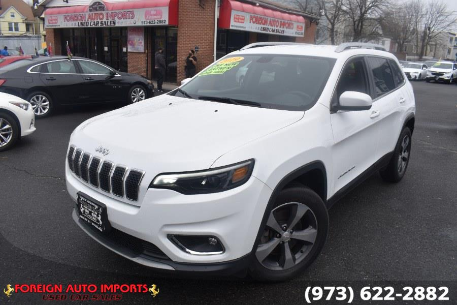 Used 2019 Jeep Cherokee in Irvington, New Jersey | Foreign Auto Imports. Irvington, New Jersey