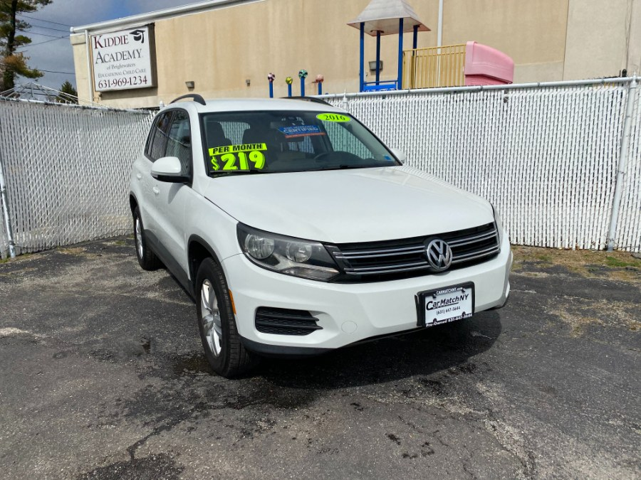 Used Volkswagen Tiguan 4MOTION 4dr Auto R-Line 2016 | Carmatch NY. Bayshore, New York