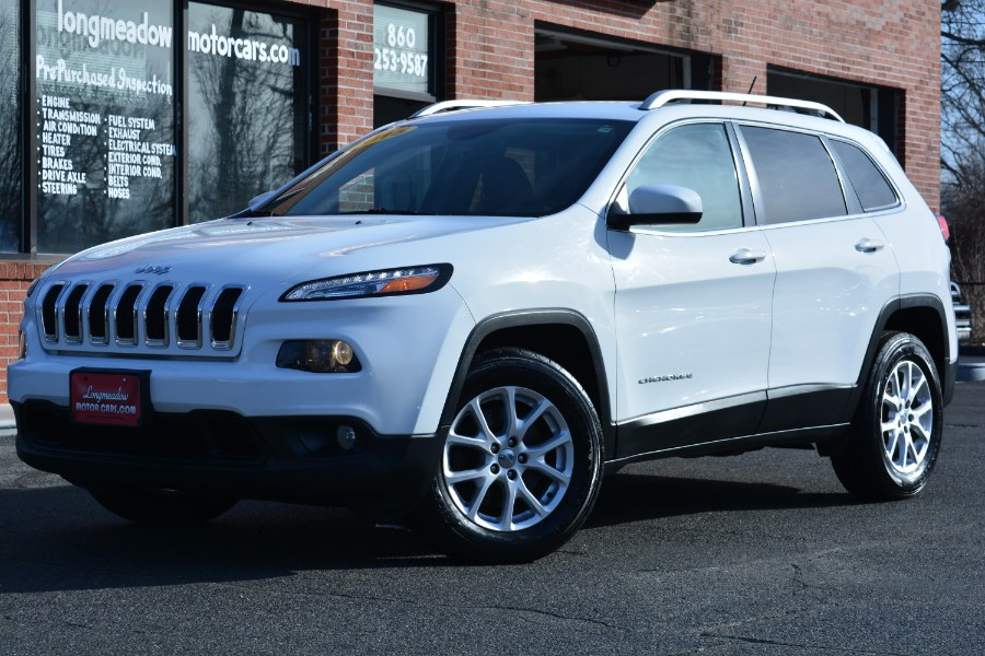Used 2015 Jeep Cherokee in ENFIELD, Connecticut | Longmeadow Motor Cars. ENFIELD, Connecticut
