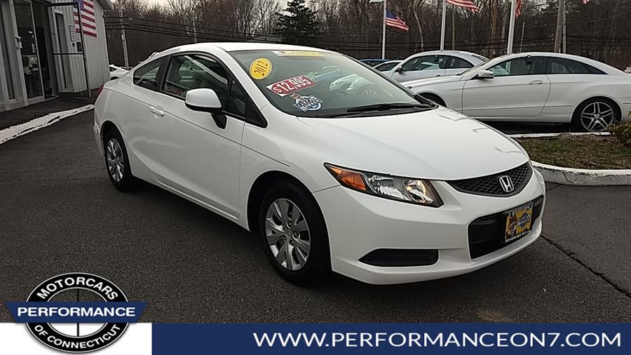 Used 2012 Honda Civic Cpe in Wilton, Connecticut | Performance Motor Cars. Wilton, Connecticut