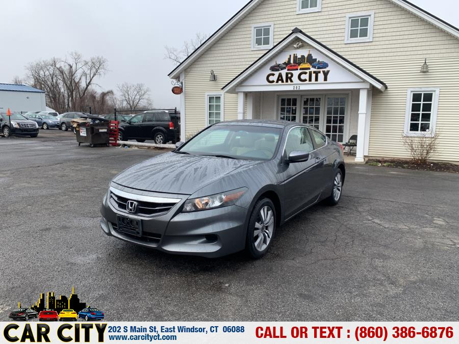 Used Honda Accord Cpe 2dr I4 Auto LX-S 2012   Car City LLC. East Windsor, Connecticut