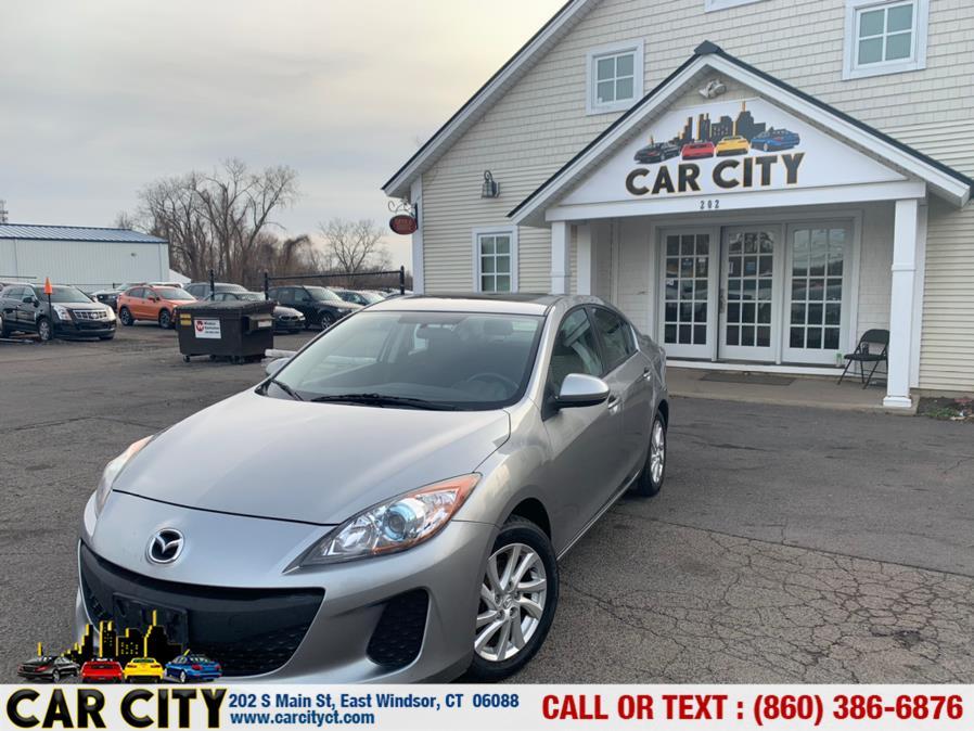 Used Mazda Mazda3 4dr Sdn Auto i Touring 2012 | Car City LLC. East Windsor, Connecticut