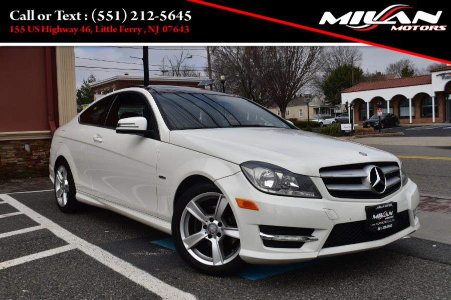 Used Mercedes-Benz C-Class 2dr Cpe C250 RWD 2012 | Milan Motors. Little Ferry , New Jersey