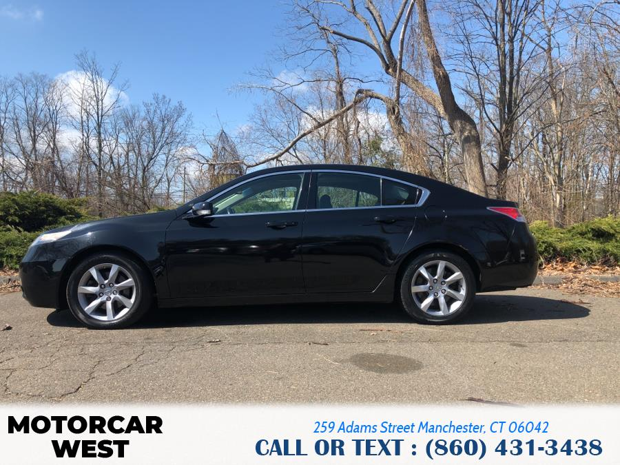 Used Acura TL 4dr Sdn Auto 2WD Tech 2012 | Motorcar West. Manchester, Connecticut