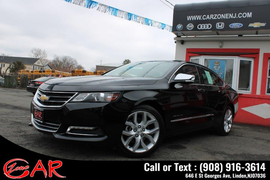 Used Chevrolet Impala 4dr Sdn Premier w/2LZ 2019 | Car Zone. Linden, New Jersey