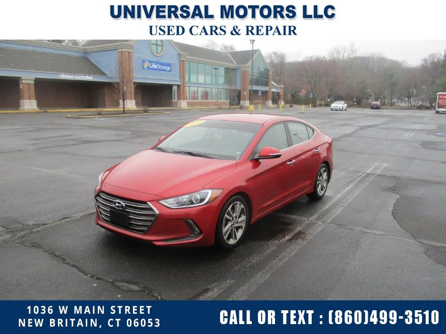 Used Hyundai Elantra Limited 2.0L Auto (Alabama) *Ltd Avail* 2017 | Universal Motors LLC. New Britain, Connecticut