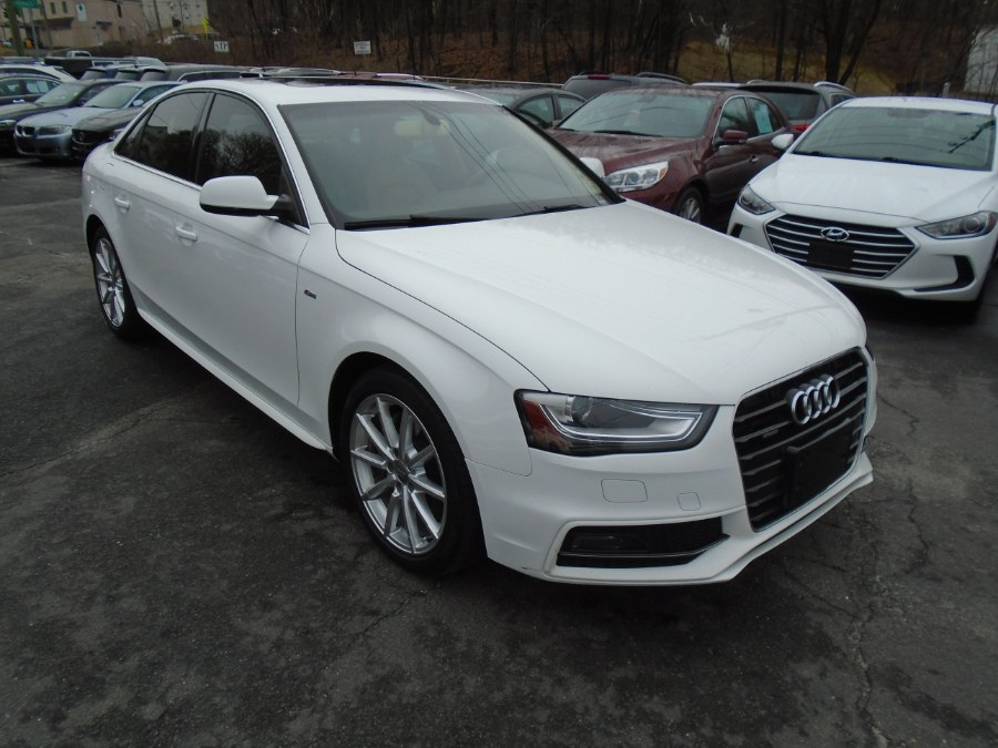 Used Audi A4 4dr Sdn Auto quattro 2.0T Premium Plus 2014 | Jim Juliani Motors. Waterbury, Connecticut