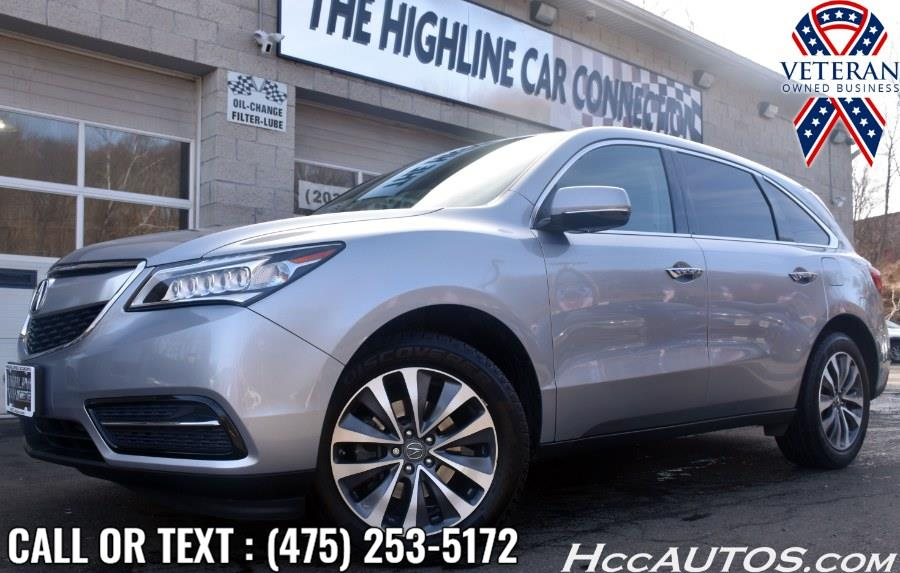 Used 2016 Acura MDX in Waterbury, Connecticut | Highline Car Connection. Waterbury, Connecticut