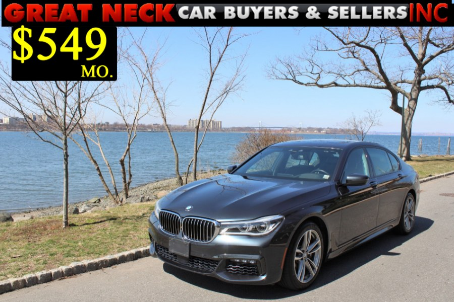 2016 BMW 7 Series 4dr Sdn 750i xDrive AWD, available for sale in Great Neck, NY