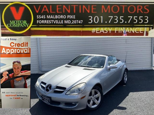 Used 2006 Mercedes-benz Slk-class in Forestville, Maryland | Valentine Motor Company. Forestville, Maryland