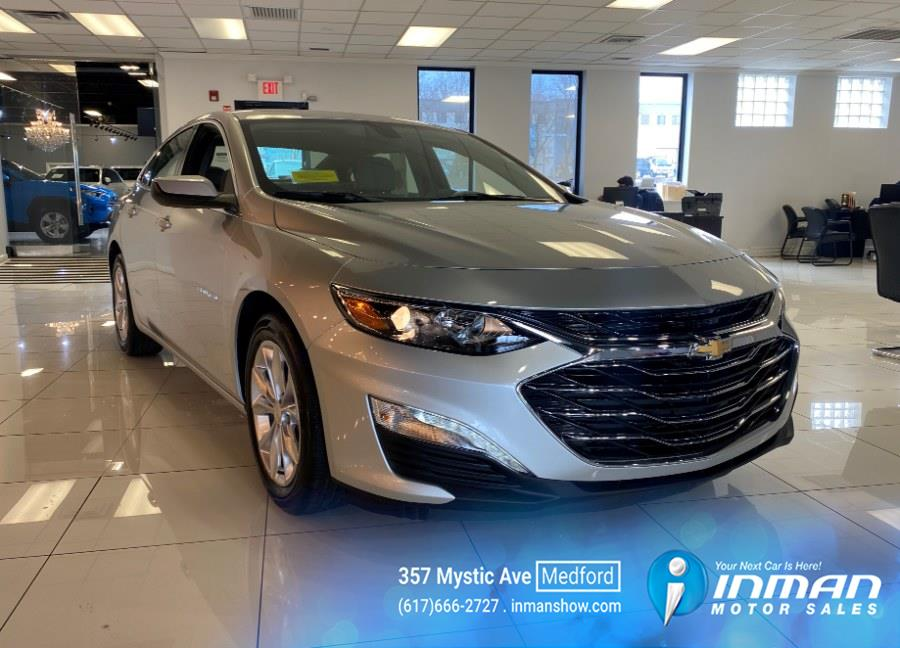 Used Chevrolet Malibu 4dr Sdn LT 2021 | Inman Motors Sales. Medford, Massachusetts