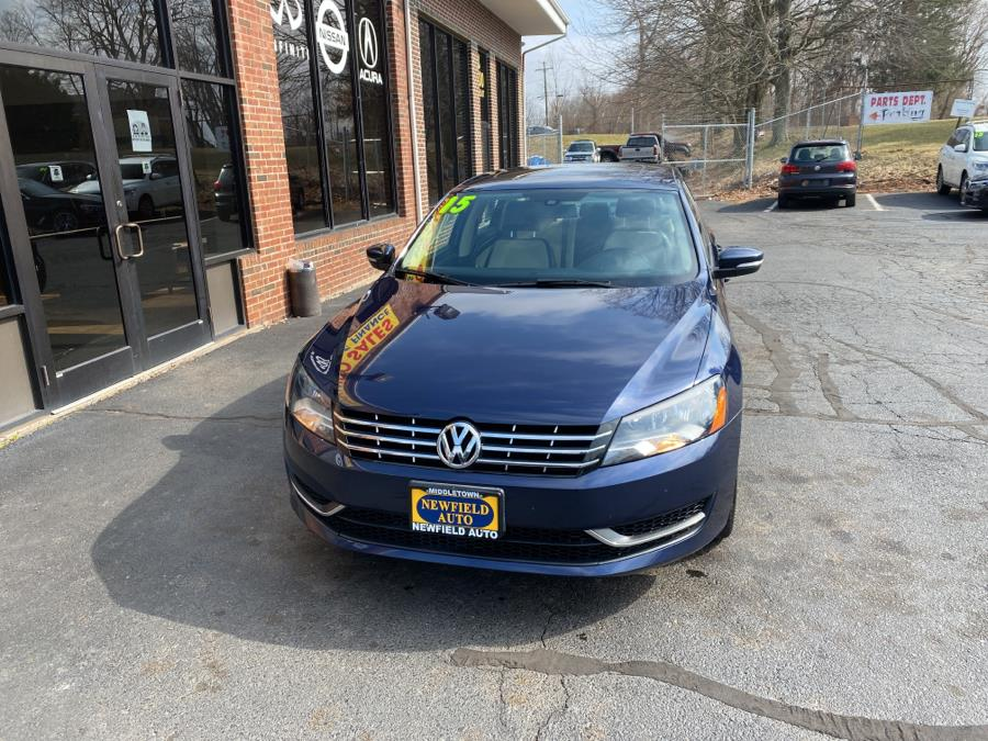 Used Volkswagen Passat 4dr Sdn 2.0L TDI DSG SE w/Sunroof 2015 | Newfield Auto Sales. Middletown, Connecticut