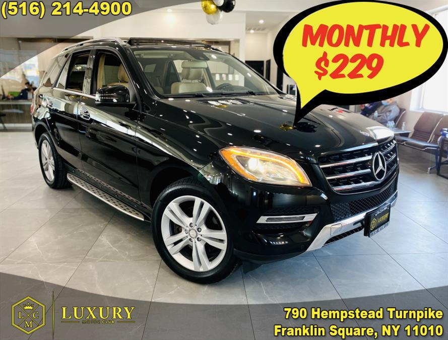 Used Mercedes-Benz M-Class 4MATIC 4dr ML350 2014 | Luxury Motor Club. Franklin Square, New York