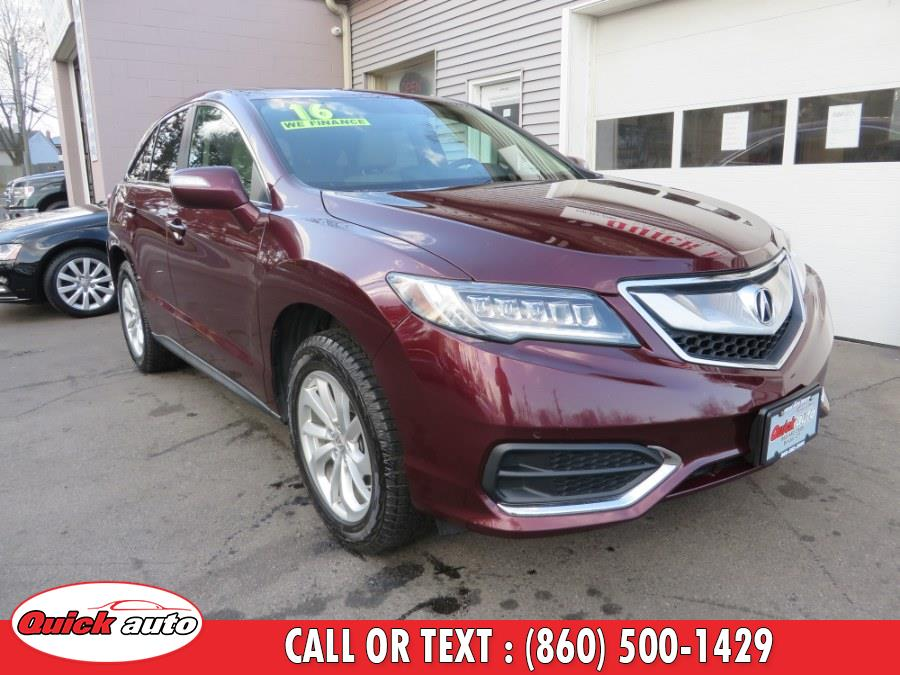 Used 2016 Acura RDX in Bristol, Connecticut | Quick Auto LLC. Bristol, Connecticut