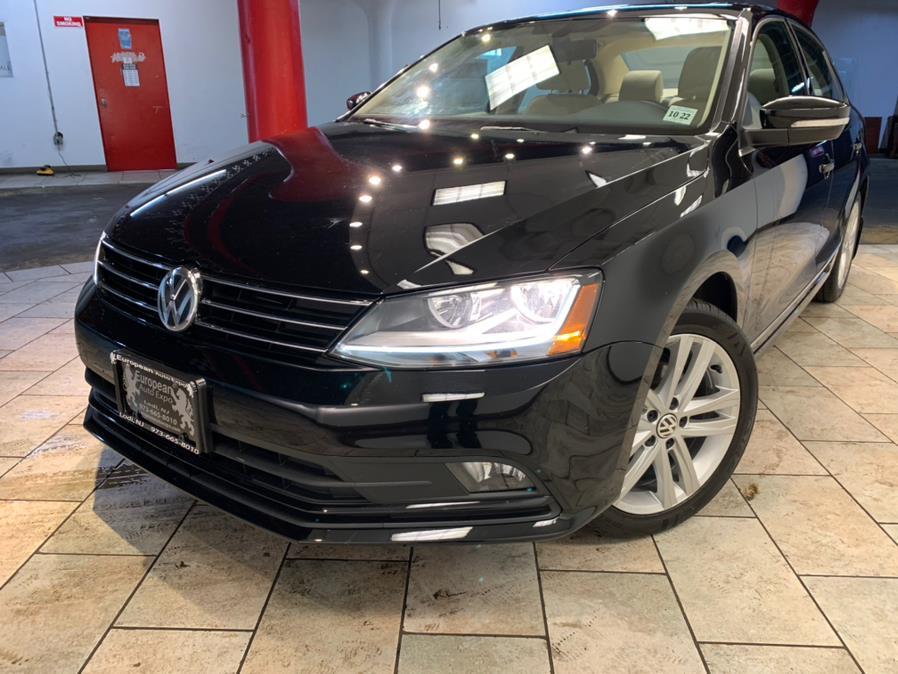 Used Volkswagen Jetta 1.8T SEL Premium Auto 2017 | European Auto Expo. Lodi, New Jersey