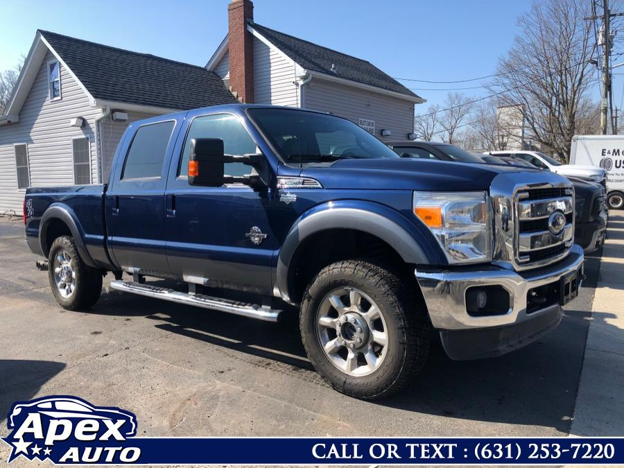 "2011 Ford Super Duty F-250 SRW 4WD Crew Cab 172"" Lariat, available for sale in Selden, NY"