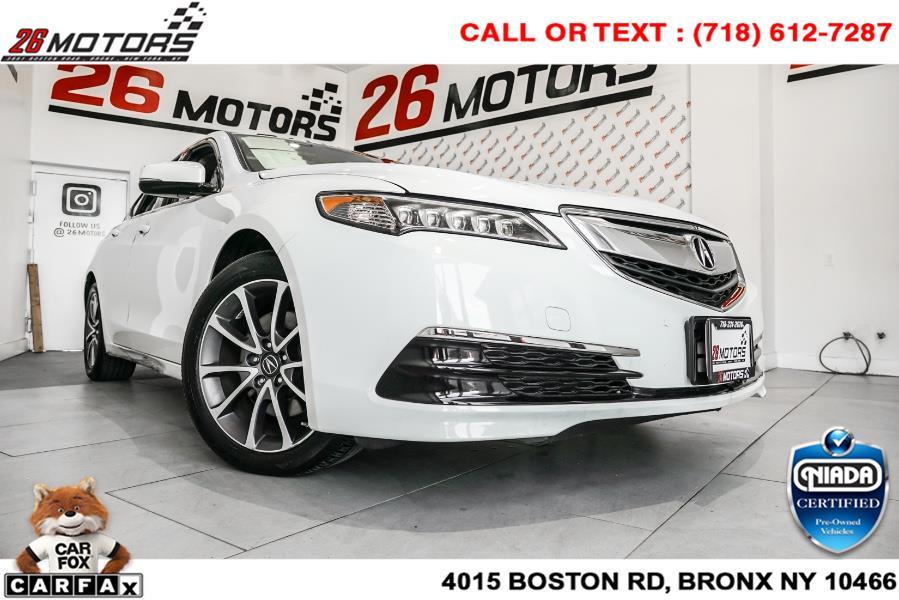 Used Acura TLX SH-AWD V6 w/Technology Pkg 2017   26 Motors Corp. Bronx, New York