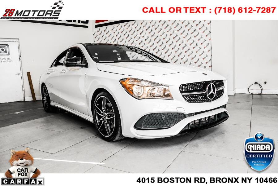 Used Mercedes-Benz CLA CLA 250 4MATIC Coupe 2018 | 26 Motors Corp. Bronx, New York