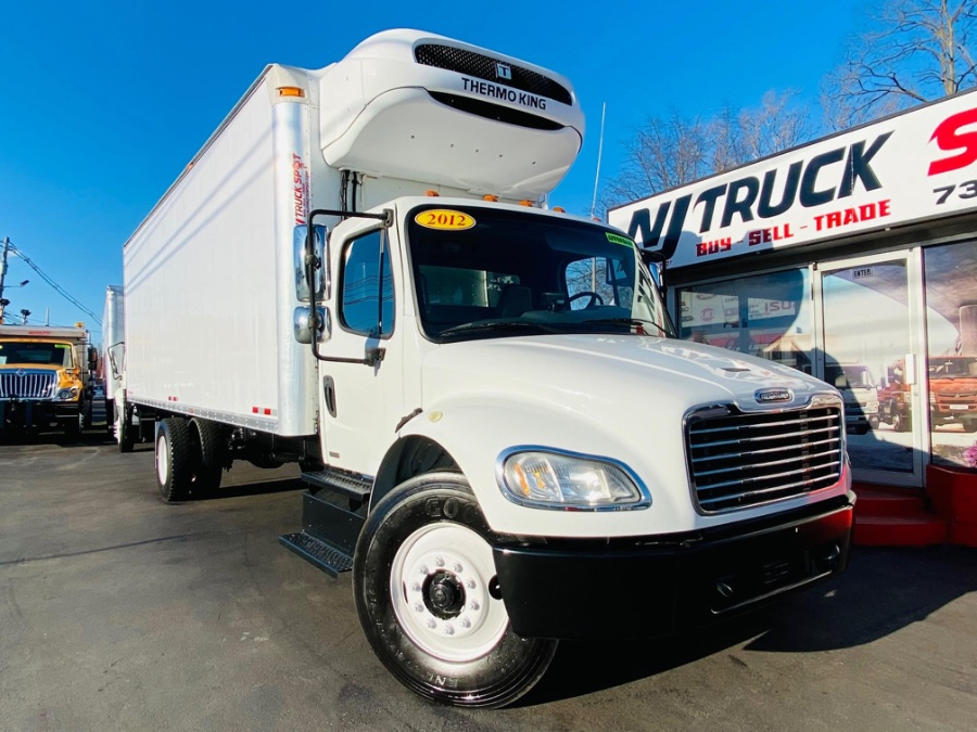 Used FREIGHTLINER M2 106 24 FEET THERMO KING T1000 BOX + LIFT GATE + NO CDL 2012   NJ Truck Spot. South Amboy, New Jersey