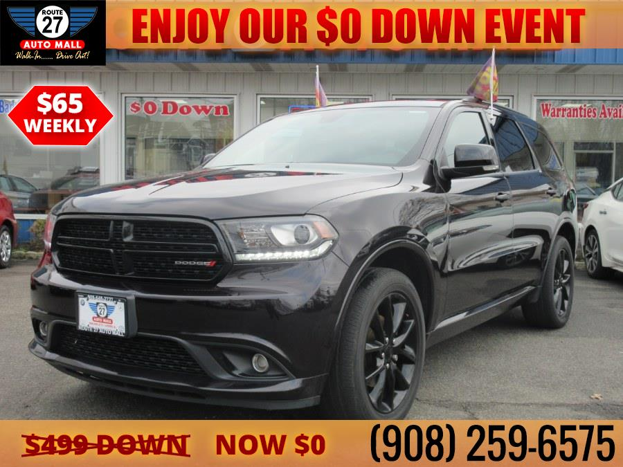 Used 2018 Dodge Durango in Linden, New Jersey   Route 27 Auto Mall. Linden, New Jersey