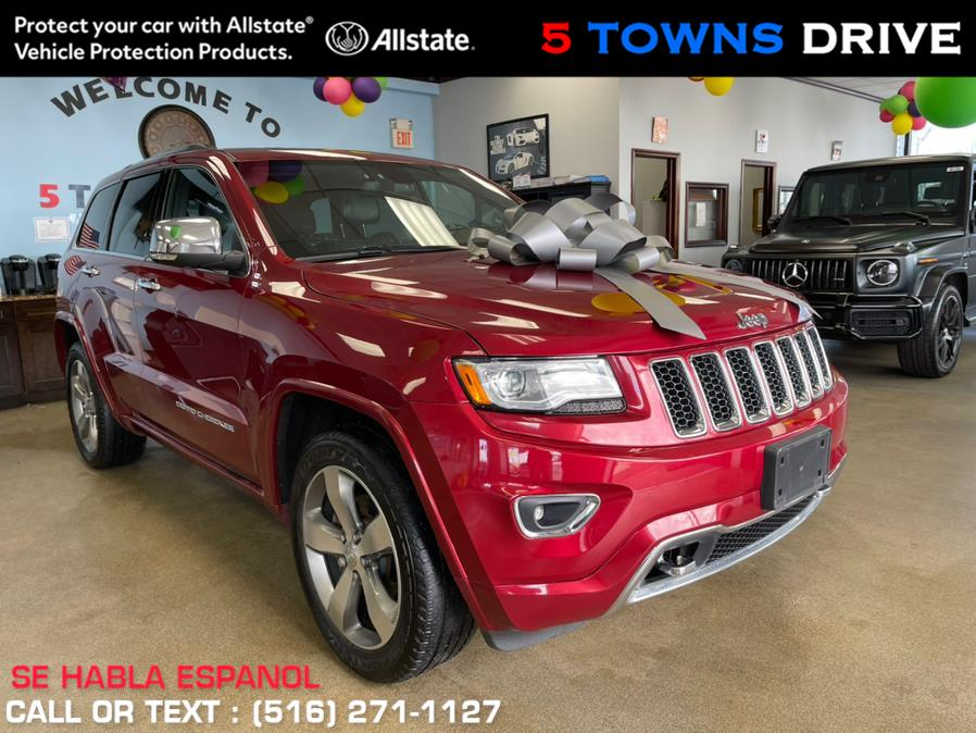 Used Jeep Grand Cherokee 4WD 4dr Overland 2015 | 5 Towns Drive. Inwood, New York
