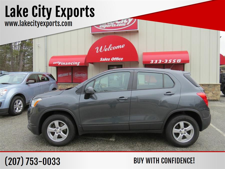 Used Chevrolet Trax LS AWD 4dr Crossover w/1LS 2016 | Lake City Exports Inc. Auburn, Maine