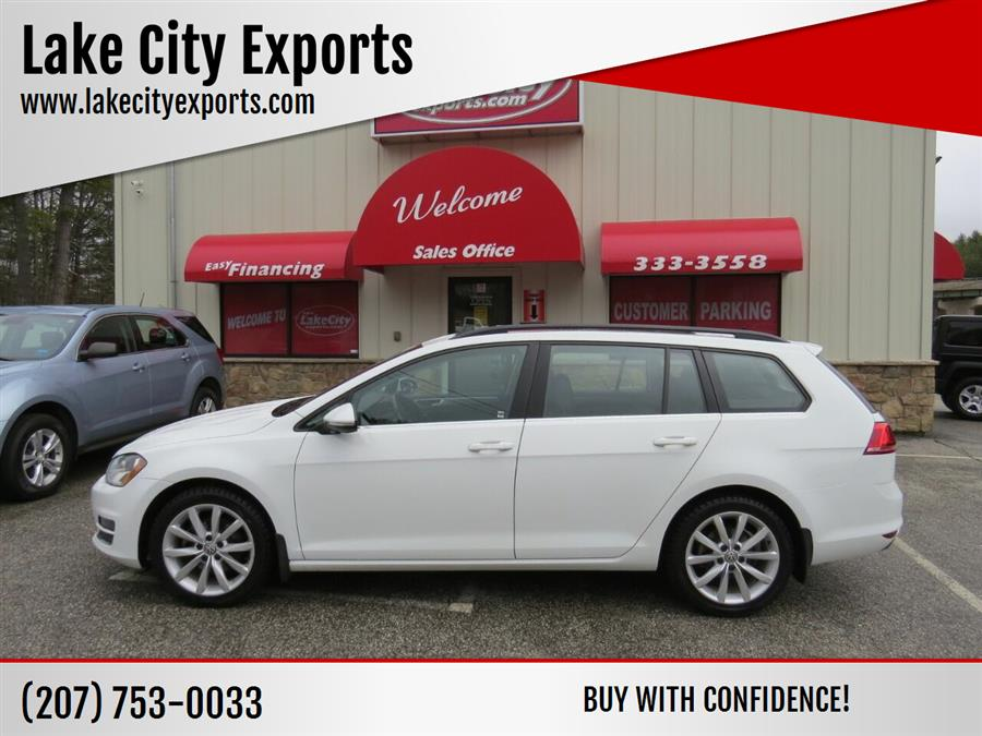 Used Volkswagen Golf Sportwagen TSI SE 4dr Wagon 2017 | Lake City Exports Inc. Auburn, Maine