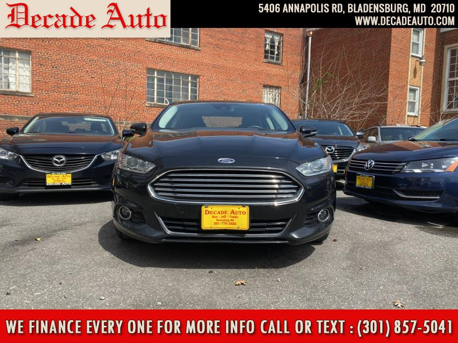 2015 Ford Fusion Energi 4dr Sdn Titanium photo