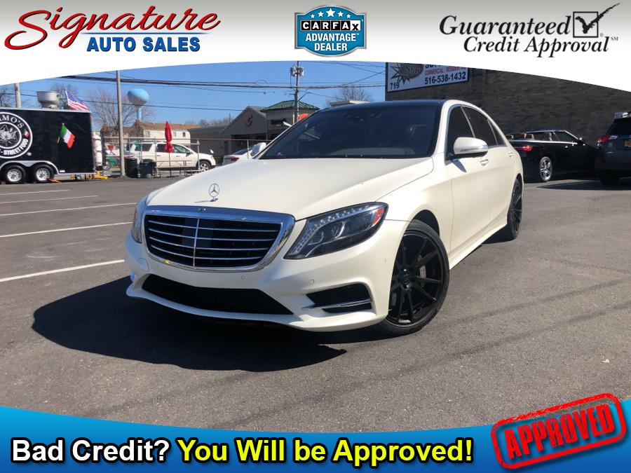 Used Mercedes-Benz S-Class 4dr Sdn S 550 4MATIC 2016 | Signature Auto Sales. Franklin Square, New York