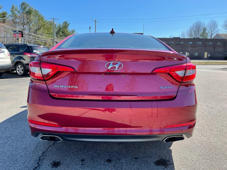 Used Hyundai Sonata 4dr Sdn 2.4L Sport 2015   Merrimack Autosport. Merrimack, New Hampshire