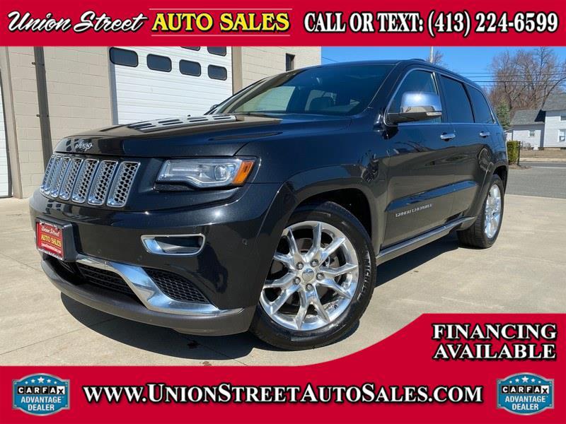 Used Jeep Grand Cherokee 4WD 4dr Summit 2014 | Union Street Auto Sales. West Springfield, Massachusetts