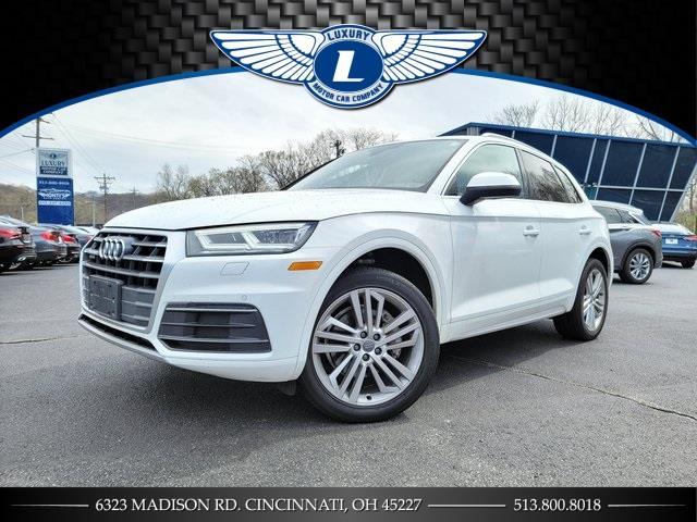 Used 2018 Audi Q5 in Cincinnati, Ohio | Luxury Motor Car Company. Cincinnati, Ohio