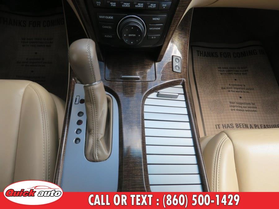 Used Acura MDX AWD 4dr Tech/Entertainment Pkg 2013   Quick Auto LLC. Bristol, Connecticut