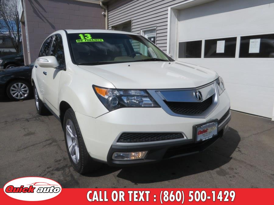 Used 2013 Acura MDX in Bristol, Connecticut | Quick Auto LLC. Bristol, Connecticut