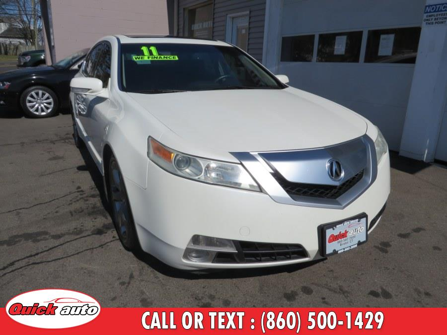 Used 2011 Acura TL in Bristol, Connecticut | Quick Auto LLC. Bristol, Connecticut