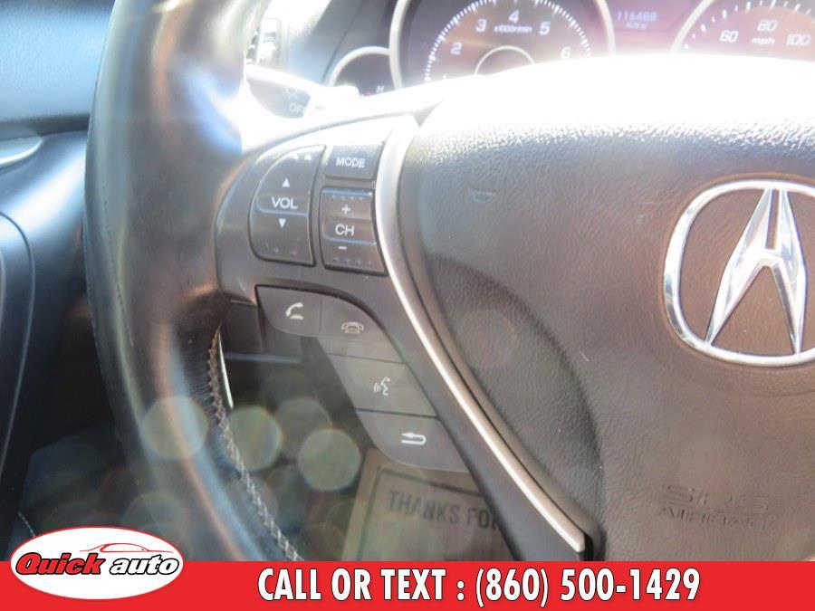 Used Acura TL 4dr Sdn Auto SH-AWD Tech 2011 | Quick Auto LLC. Bristol, Connecticut