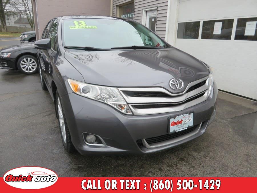 Used 2013 Toyota Venza in Bristol, Connecticut | Quick Auto LLC. Bristol, Connecticut