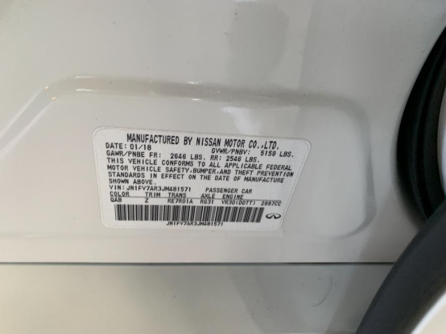 Used INFINITI Q50 RED SPORT 400 AWD 2018   MP Motors Inc. West Babylon , New York