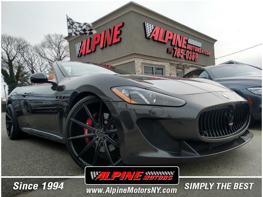 Used Maserati GranTurismo Convertible 2dr Conv GranTurismo MC 2013 | Alpine Motors Inc. Wantagh, New York