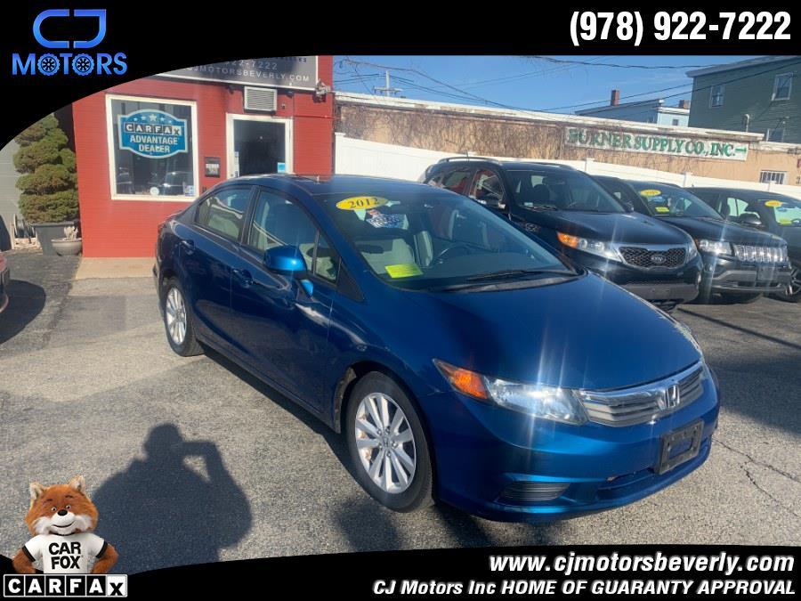 Used 2012 Honda Civic Sdn in Beverly, Massachusetts | CJ Motors Inc. Beverly, Massachusetts