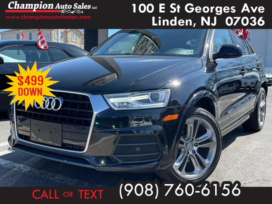 Used 2016 Audi Q3 in Linden, New Jersey | Champion Used Auto Sales. Linden, New Jersey
