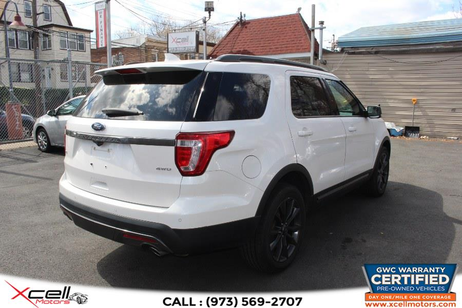 Used Ford Explorer XLT 4WD XLT 4WD 2017 | Xcell Motors LLC. Paterson, New Jersey