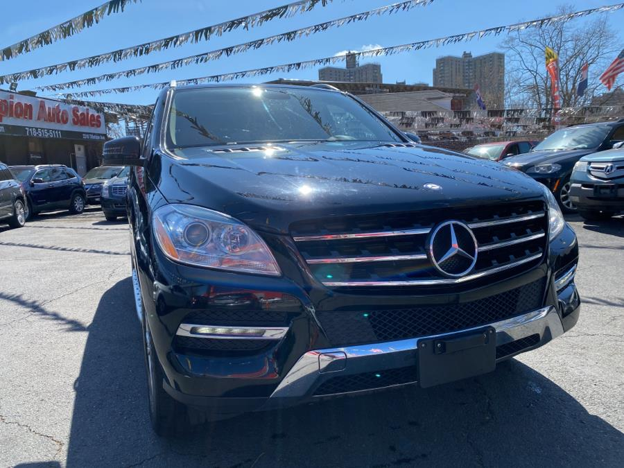 Used Mercedes-Benz M-Class 4MATIC 4dr ML350 2013 | Champion Auto Sales Of The Bronx. Bronx, New York