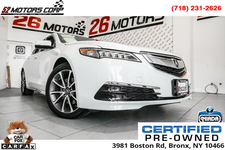 Used Acura TLX SH-AWD V6 w/Technology Pkg 2017 | 52Motors Corp. Woodside, New York