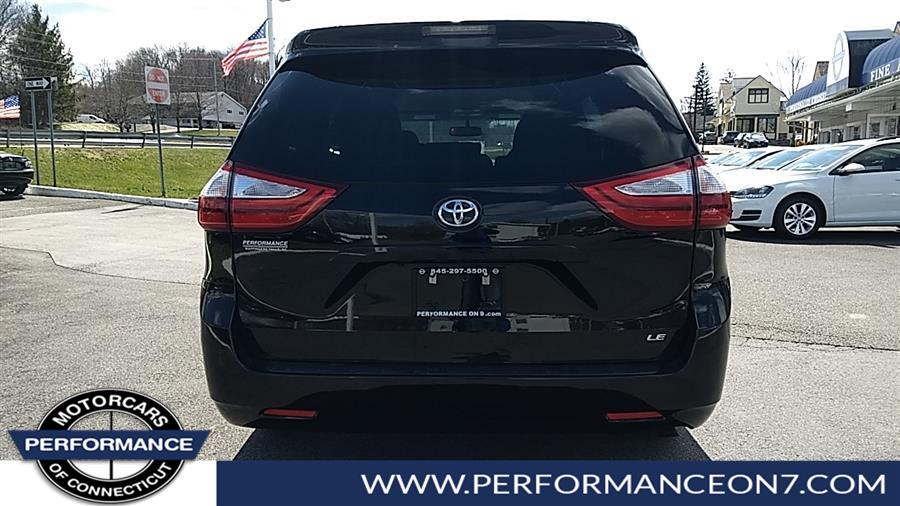 Used Toyota Sienna LE Auto Access Seat FWD 7-Passenger (Natl) 2017 | Performance Motor Cars. Wilton, Connecticut