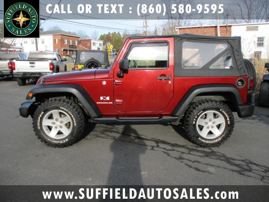 Used 2008 Jeep Wrangler in Suffield, Connecticut | Suffield Auto Sales. Suffield, Connecticut