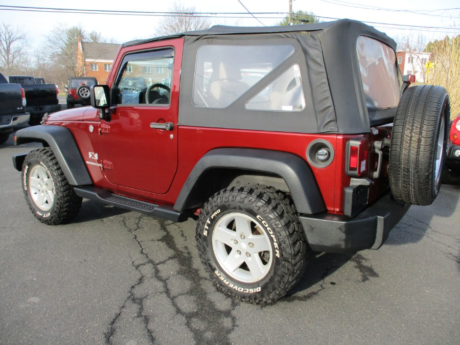 Used Jeep Wrangler 4WD 2dr X 2008 | Suffield Auto Sales. Suffield, Connecticut