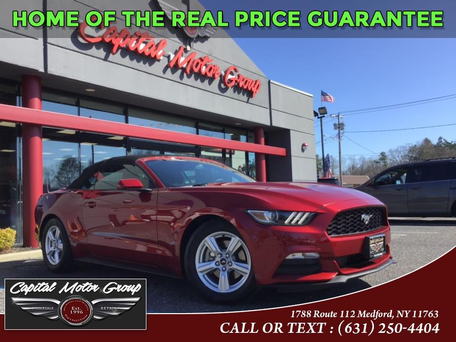 Used Ford Mustang 2dr Conv V6 2015 | Capital Motor Group Inc. Medford, New York
