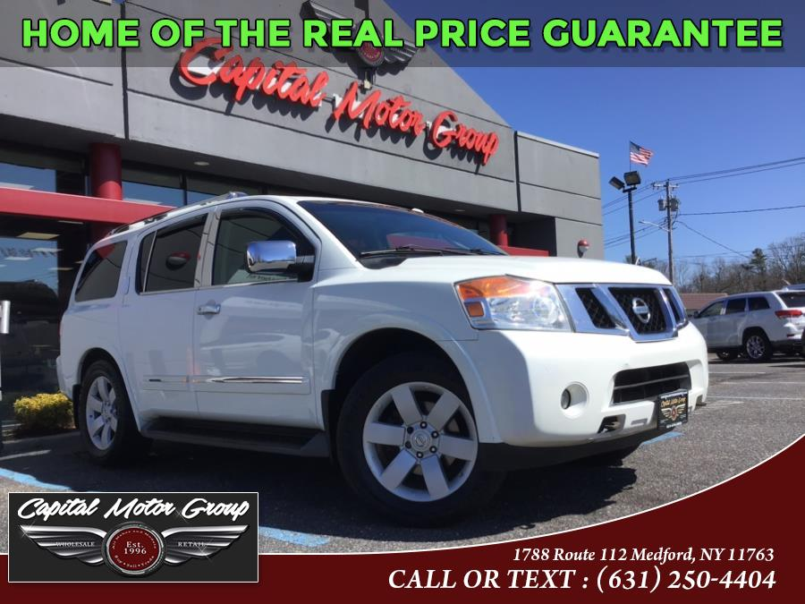 Used Nissan Armada 4WD 4dr Platinum 2010 | Capital Motor Group Inc. Medford, New York